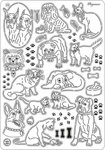 Multi Grid 44 Cats & Dogs (31474)