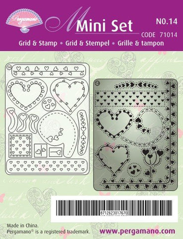 Mini Set 14 Hearts (71014)