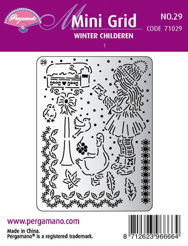 Mini Grid 29 Winter Children 1 (71029)
