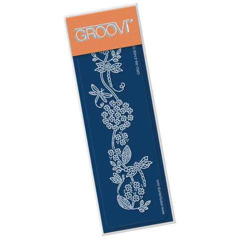 Dragonflies and Flourish <br/> Groovi Spacer Plate