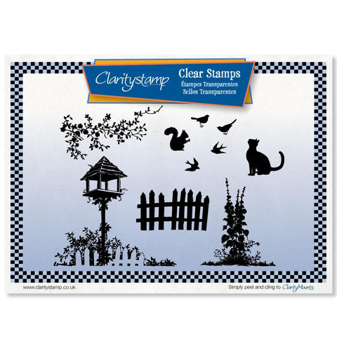 Birdhouse Stamp Set (x7)