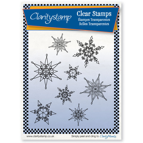Snowflake Stamp Set (x8)