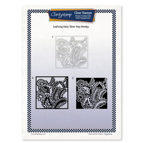 Leafwing Fairy <br/> Three Way Overlay <br/> A4 Unmounted Stamp Set