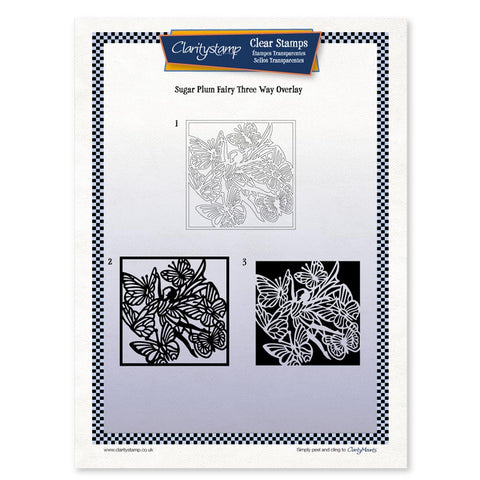 Sugar Plum <br/> Three Way Overlay <br/> A4 Unmounted Stamp Set