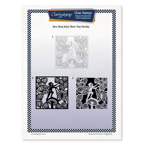 Dewdrop Fairy <br/> Three Way Overlay <br/> A4 Unmounted Stamp Set