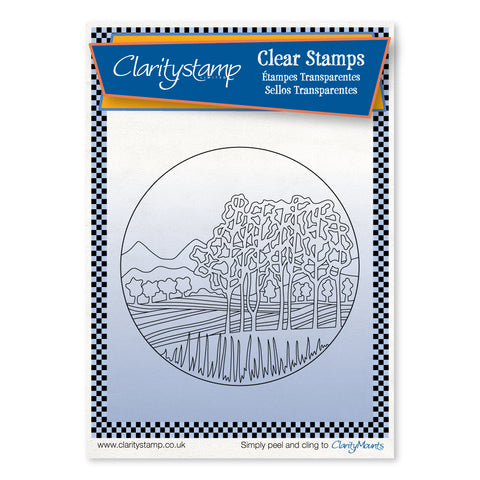 Napa Valley - Fine Line <br/> A6 Unmounted Stamp