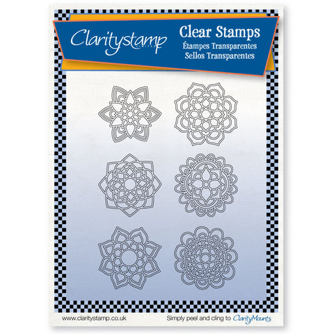 Mandalas <br/> A5 Unmounted Stamp Set