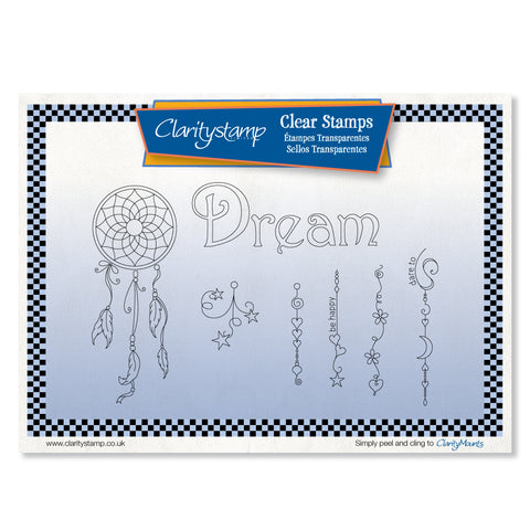 Dream Dangles <br/> A5 Unmounted Stamp Set