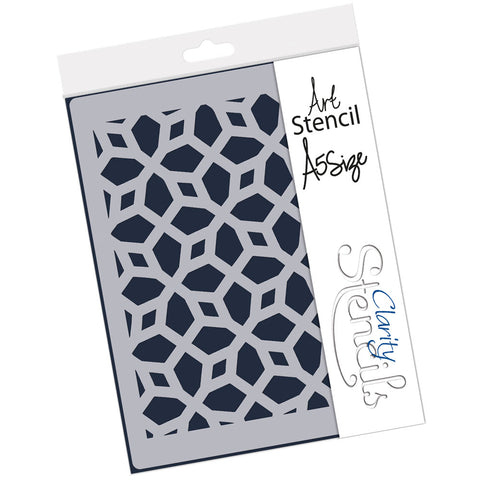 Moroccan Lattice <br/> A5 Stencil <br/>