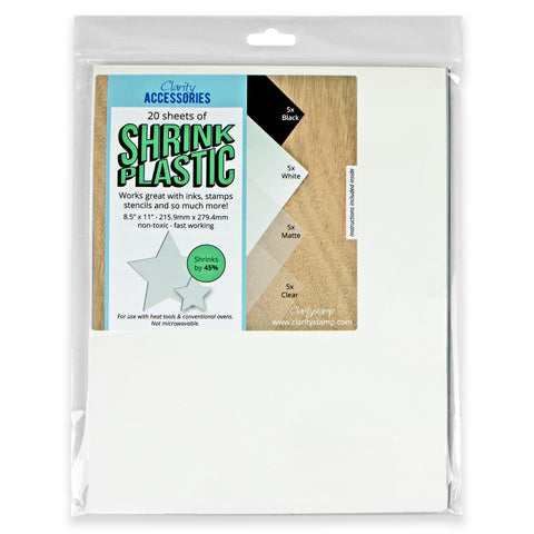 Shrink Plastic Mixed Pack (20 Sheets)