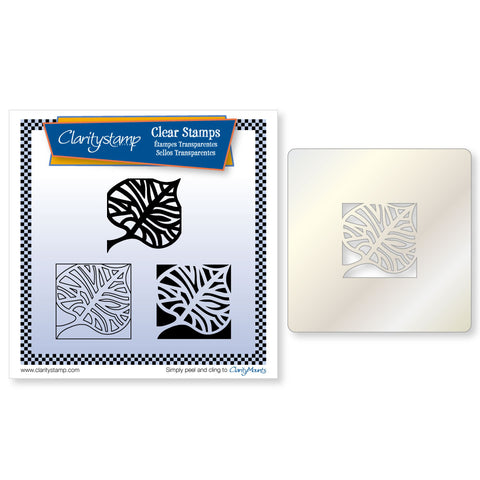 Skeleton Leaf (PRE-ORDER) <br/> Three Way Overlay Stamps and Stencil