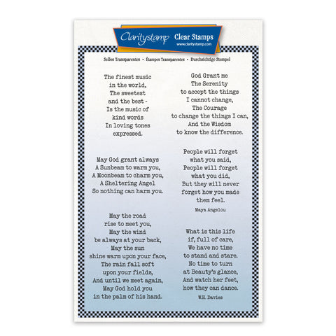 Barbara's Poetry Verses -The Finest Music Unmounted Stamp Set