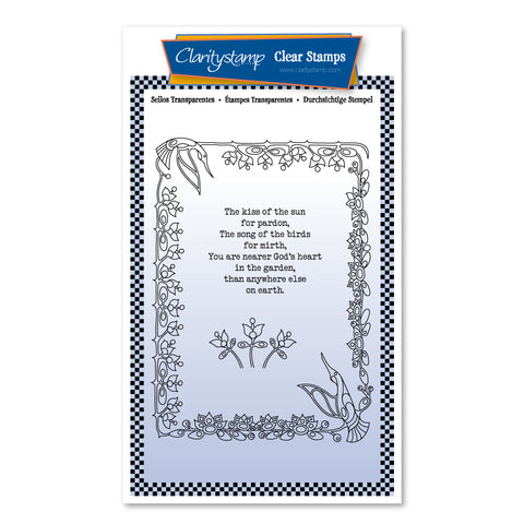 The Kiss of the Sun A6 Poetry Stamp Set