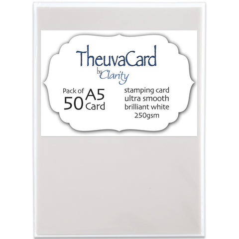 Theuva Card A5 (Pack of 50)