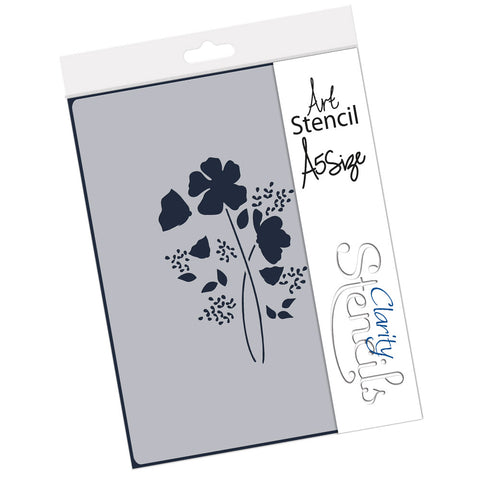 Tina's Wild Flower Spray <br/> A5 Stencil