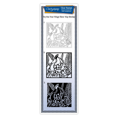 Try Out Your Wings <br/> Three-way Overlay Unmounted Stamp Set