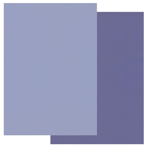 Periwinkle Blue & Very Violet Groovi® Two Tone A4 Coloured Parchment Paper (10 Sheets)