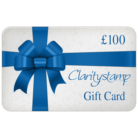 Clarity £100 Gift Card