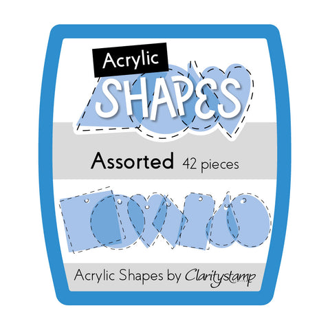 Mini Assorted Acrylic Shapes