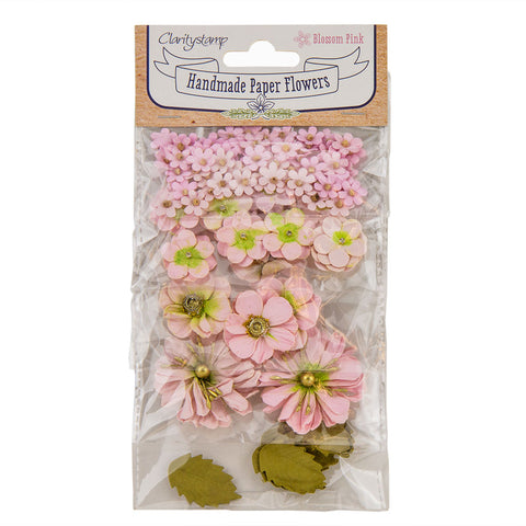Blossom Pink (PRE-ORDER) <br/> Claritystamp Handmade Paper Flowers