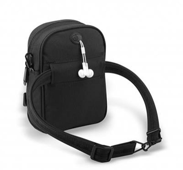 Pacsafe Metrosafe 100 Gll Shoulder Bag - Black