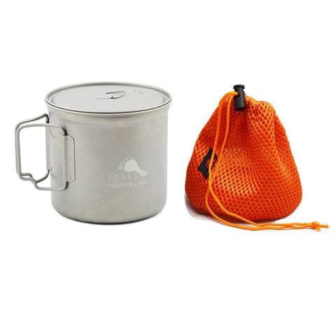 Toaks Titanium Pot - 1100ml