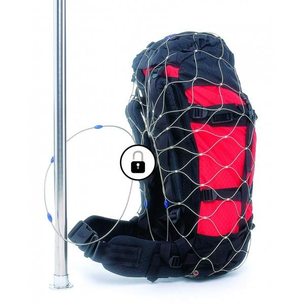 Pacsafe 55L - anti-theft backpack & bag protector