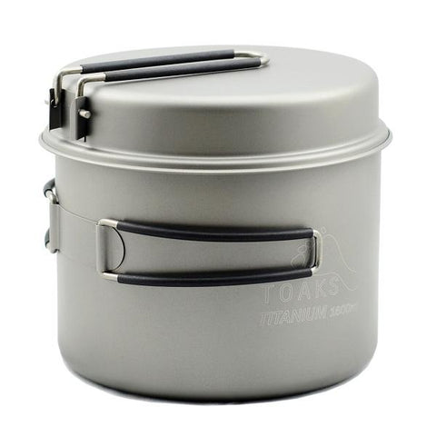 Toaks Titanium Pot and Pan Set - 1600ml