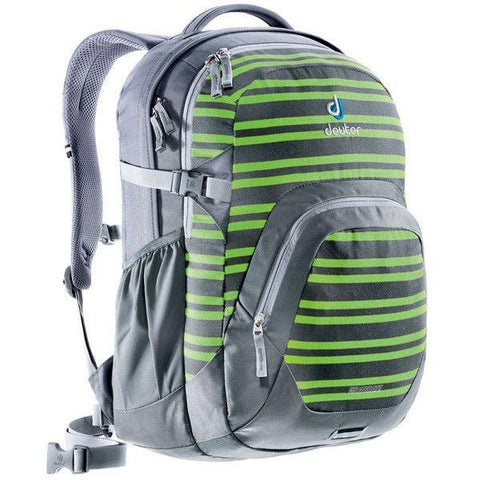 Deuter Graduate Backpack - Titan/Kiwi Stripes