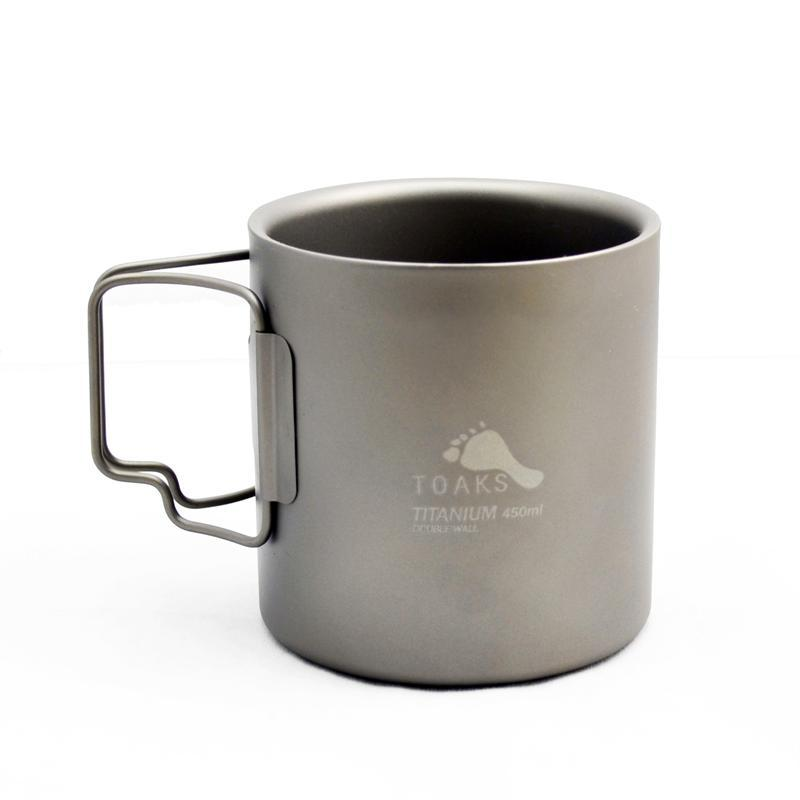 Toaks Titainium Double Wall Cup 450ml