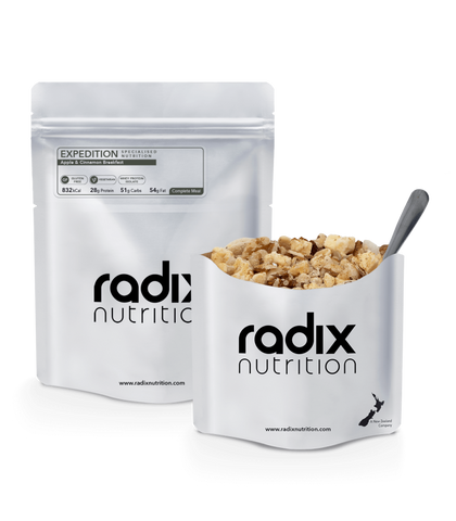 Radix Nutrition Apple & Cinnamon Breakfast - Expedition Range