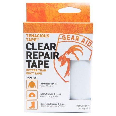 Gear Aid Tenacious Tape clear repair tape