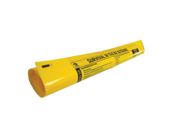 Yellow Plastic Pack Liner