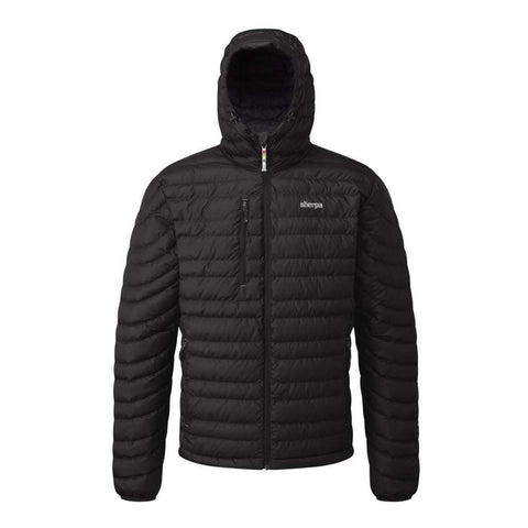 Sherpa Nangpala Men's Hooded Down Jacket - Black