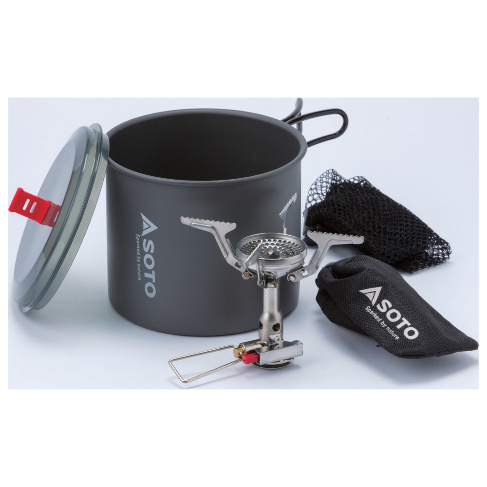 Soto New River Pot + Amicus with Igniter