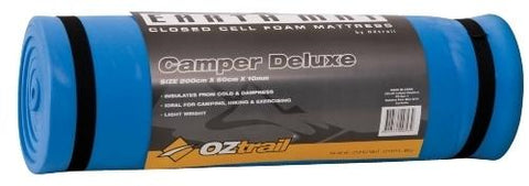 OZtrail Foam Earth Mat Silver, 10mm Camper Deluxe