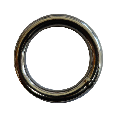Aspiring Slackline Line Locker Ring – 6mm – Stainless