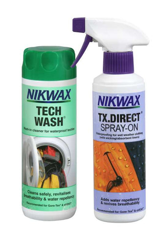 Nikwax Tech Wash + TX Direct Spray-On (300ml)