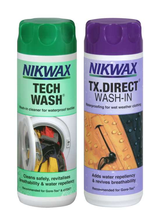 Nikwax Tech Wash + TX Direct Wash-In
