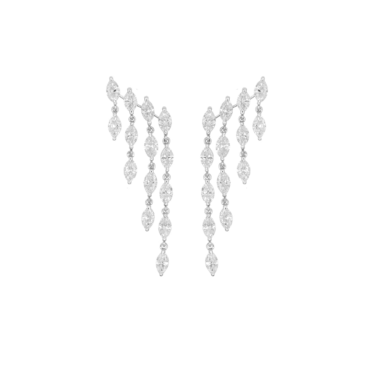 Marquise Flow Earring