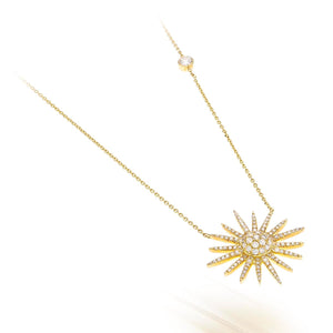 Wishing on a Star Diamond Pendant