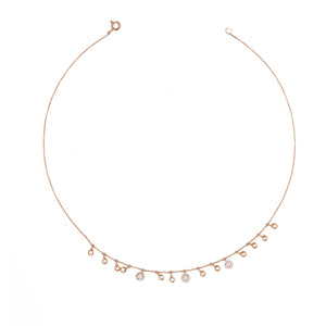 Multi Dangle Choker