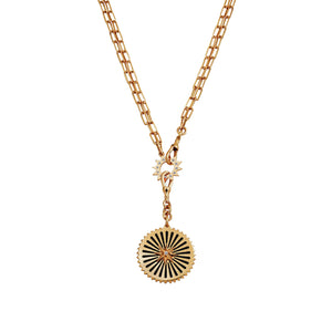 Compass Star Diamond Necklace