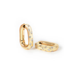 Swing With Me Diamond Dotted Earring