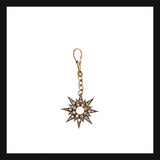 Starburst Brown Diamond Charm