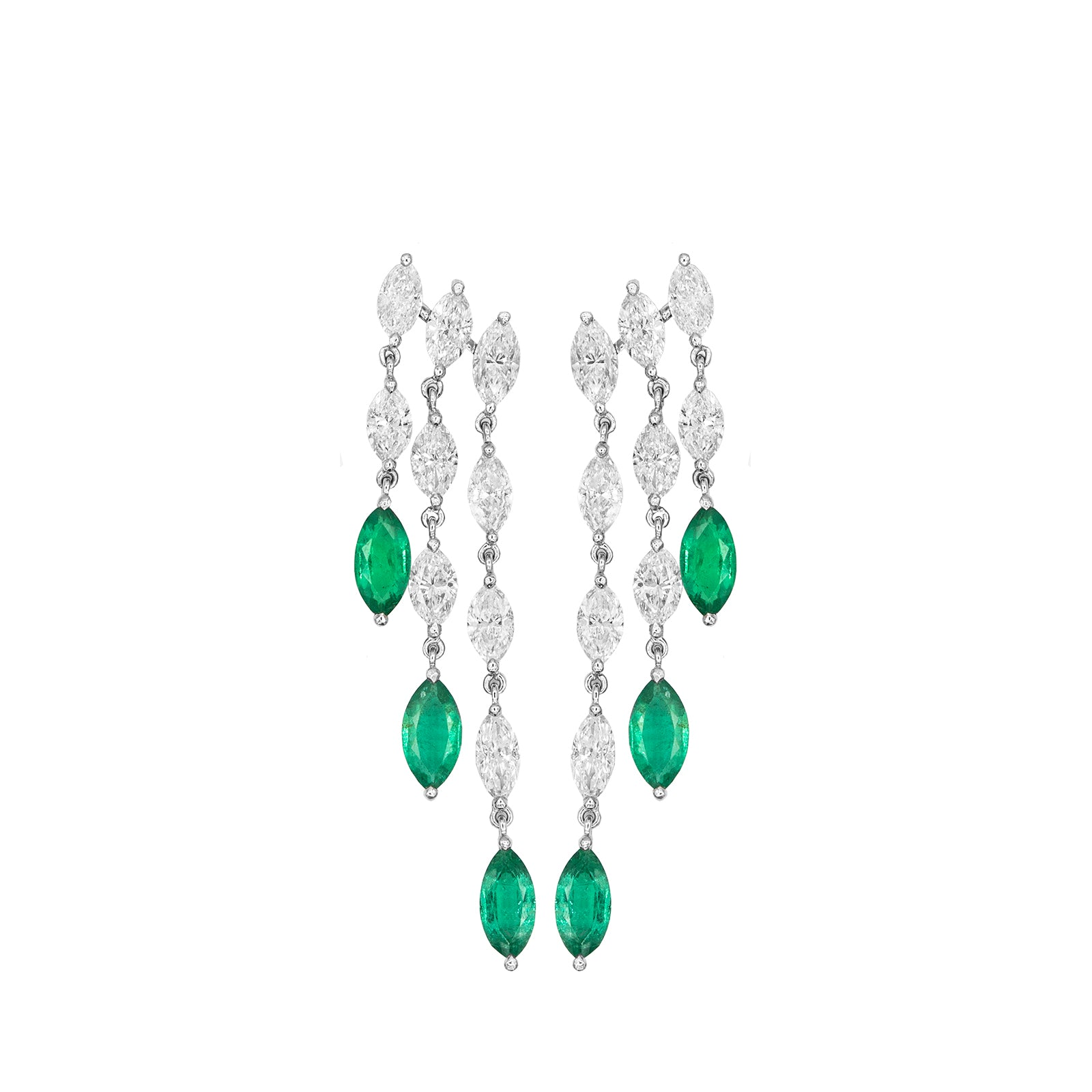 Marquise Waterfall Earring