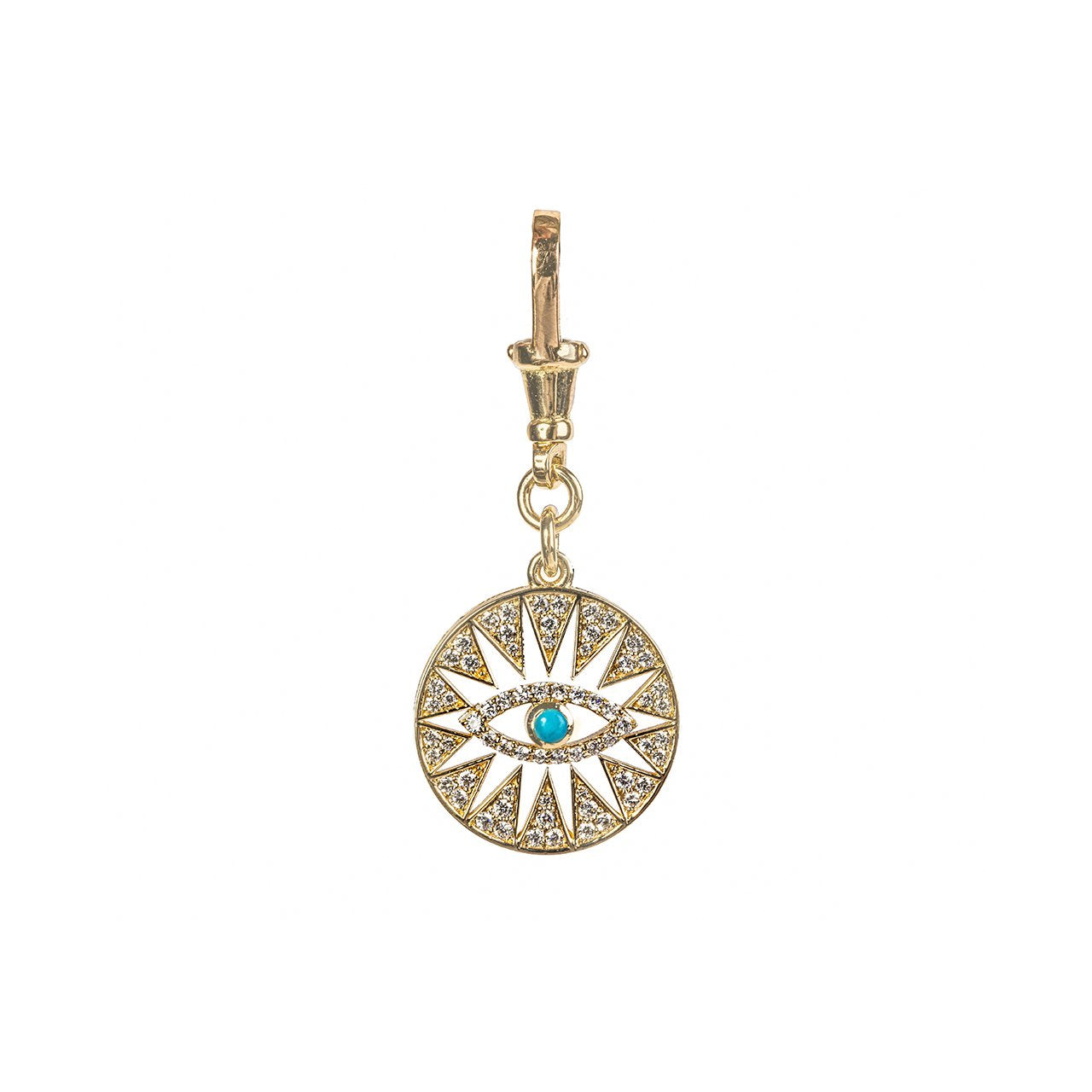 Hala Diamond Eye Charm