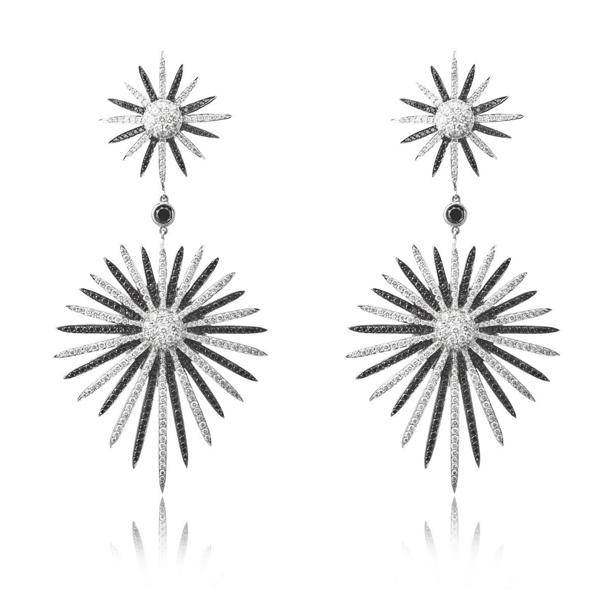 Duality Starburst Explosion Earring