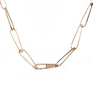 Sensuality Diamond Lock Chain