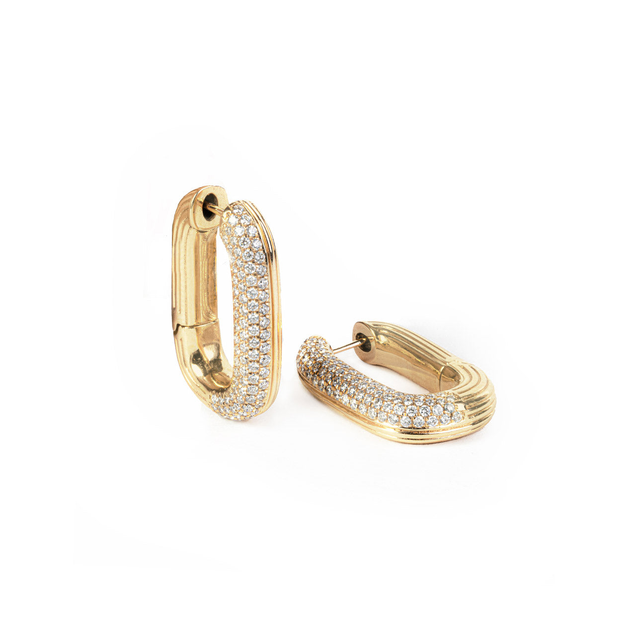 Swing With Me Pave Earring